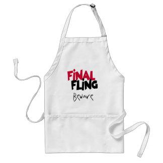 Final Fling Bachelorette Tshirts and Gifts Apron