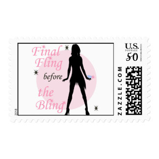 Final Fling before the Bling Postage