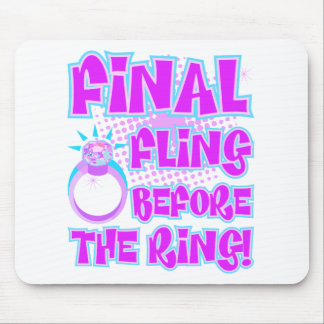 Final Fling Before The Ring Mouse Pad