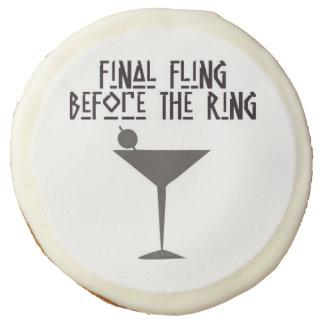 Final Fling Before The Ring Sugar Cookie