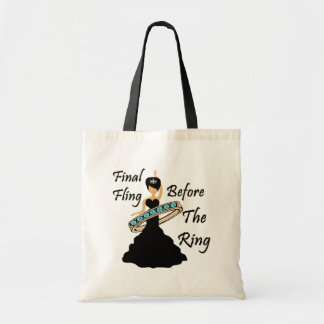 Final Fling Before The Ring White Background Tote Bag