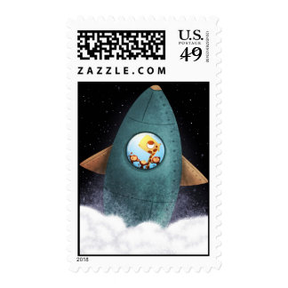 Final frontier postage stamp