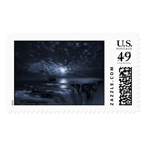 Final Frontier Voyager Stamp