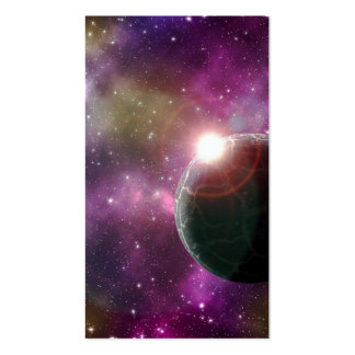 FINAL FRONTIERS - NEW WORLDS (outer space) ~.jpg Double-Sided Standard Business Cards (Pack Of 100)