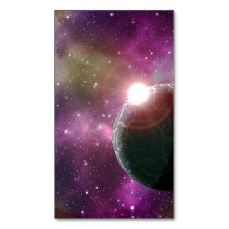 FINAL FRONTIERS - NEW WORLDS (outer space) ~.jpg Magnetic Business Cards (Pack Of 25)