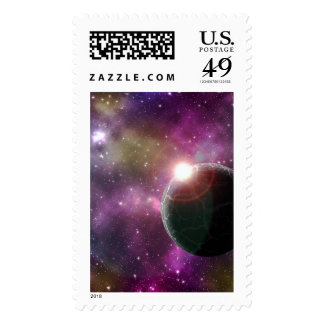 FINAL FRONTIERS - NEW WORLDS (outer space) ~.jpg Postage