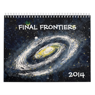 FINAL FRONTIERS Outer Space Calendar