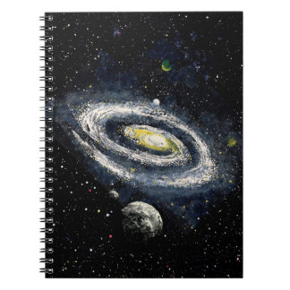 FINAL FRONTIERS (outer space design 2) ~ Notebooks
