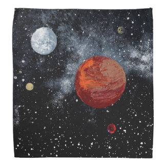 FINAL FRONTIERS (outer space design 9) ~ Bandana