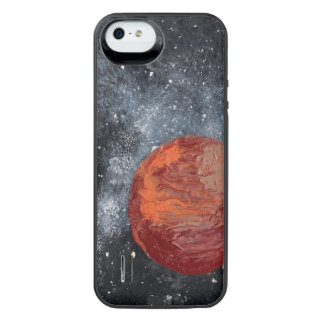 FINAL FRONTIERS (space design 2) ~ iPhone SE/5/5s Battery Case