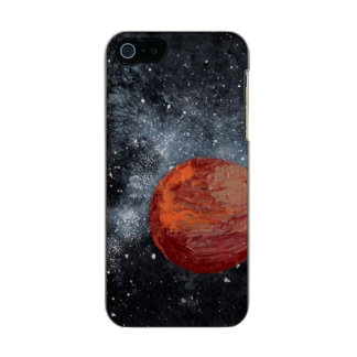 FINAL FRONTIERS (space design 2) ~ Metallic Phone Case For iPhone SE/5/5s