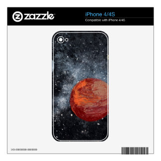 FINAL FRONTIERS (space design 2) ~ Skins For iPhone 4