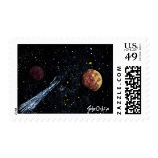FINAL FRONTIERS space design 2 ~ Stamp