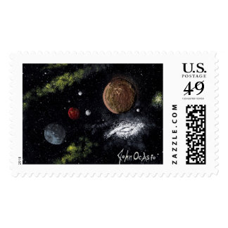 FINAL FRONTIERS space design 3 ~ Postage