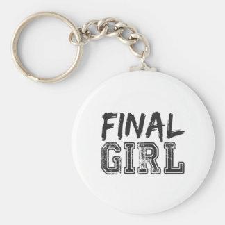 Final Girl Print Keychain