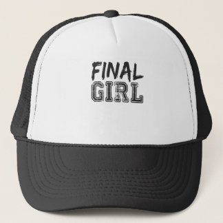Final Girl Print Trucker Hat