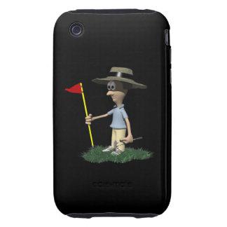 Final Hole iPhone 3 Tough Case