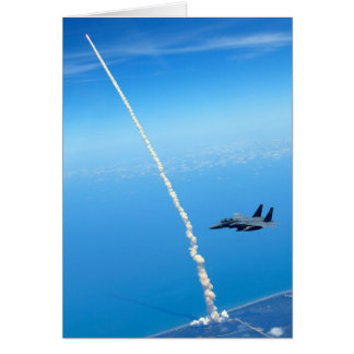 Final Launch of Space Shuttle Atlantis - May 2010 Greeting Card