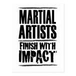 Final marcial de los artistas con impacto postal