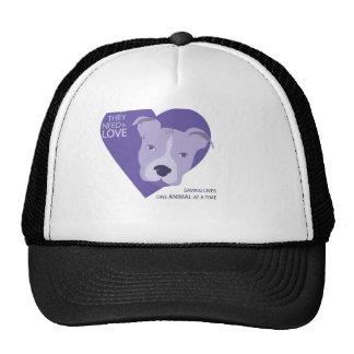 final Rescue Logo purple Trucker Hat