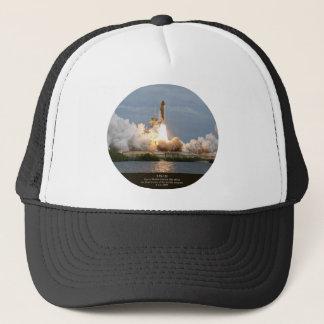 Final Space Shuttle launch STS-135 Atlantis Trucker Hat