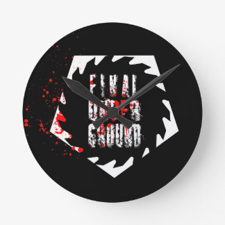 Final Underground Saw Blade Clock