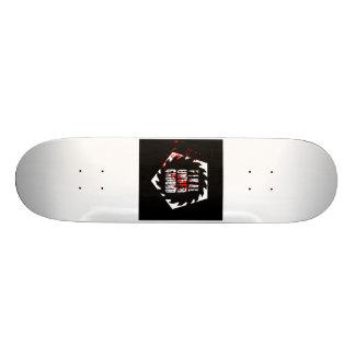 Final Underground Saw Blade Logo Skateboard