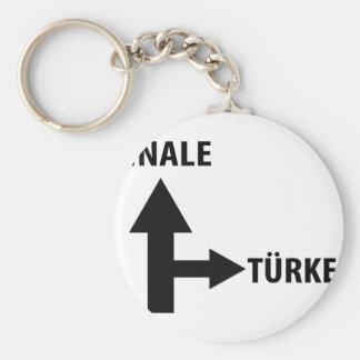 finale türkei icon basic round button keychain