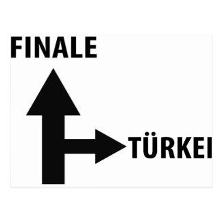 finale türkei icon postcard