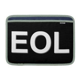 Finales de EOL de la vida Funda MacBook