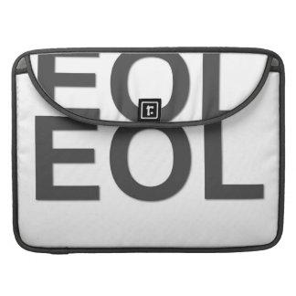 Finales de EOL de la vida Funda Macbook Pro