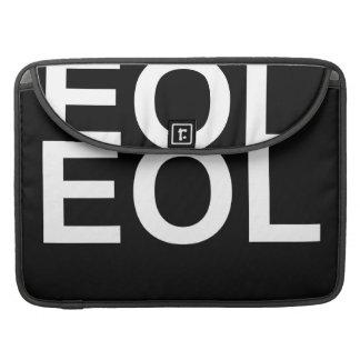 Finales de EOL de la vida Funda Para Macbook Pro