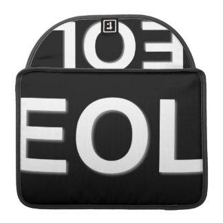 Finales de EOL de la vida Fundas Para Macbooks