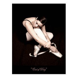 Finales de la postal de la bailarina el dormir del