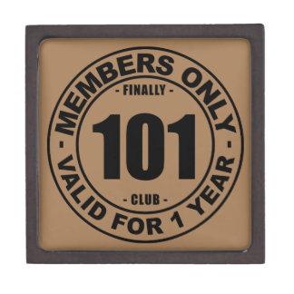 Finally 101 club jewelry box