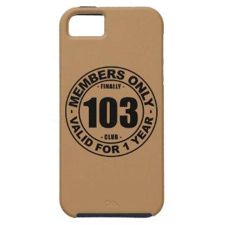 Finally 103 club iPhone SE/5/5s case