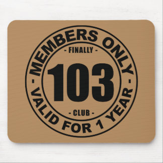 Finally 103 club mouse pad