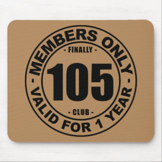 Finally 105 club mouse pad