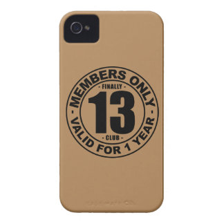 Finally 13 club Case-Mate iPhone 4 cases