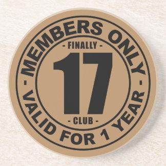 Finally 17 club coaster