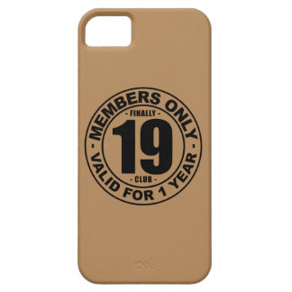 Finally 19 club iPhone SE/5/5s case