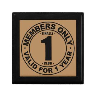 Finally 1 club keepsake box