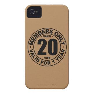 Finally 20 club iPhone 4 case