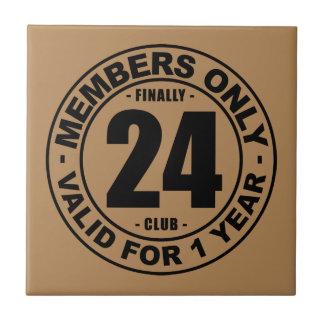 Finally 24 club tile