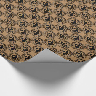 Finally 26 club wrapping paper