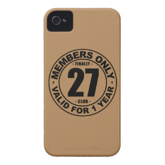 Finally 27 club iPhone 4 cover