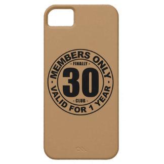 Finally 30 club iPhone SE/5/5s case