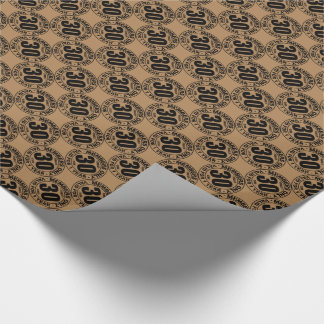 Finally 30 club wrapping paper