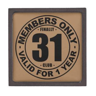 Finally 31 club gift box