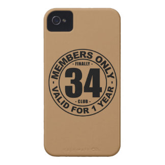 Finally 34 club iPhone 4 cases